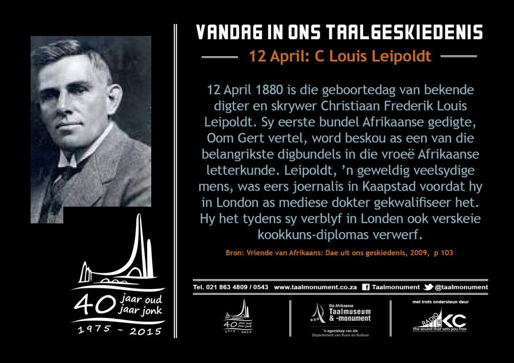 brokkie taalmuseum leipoldt